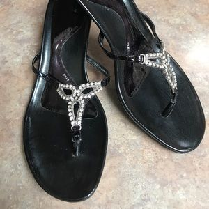 Kenneth Cole Reaction bling heeled sandals